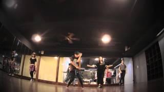 JazzMine Hip Hop Class 20150807 FKJ - Higher In Love ft. Damon Trueitt
