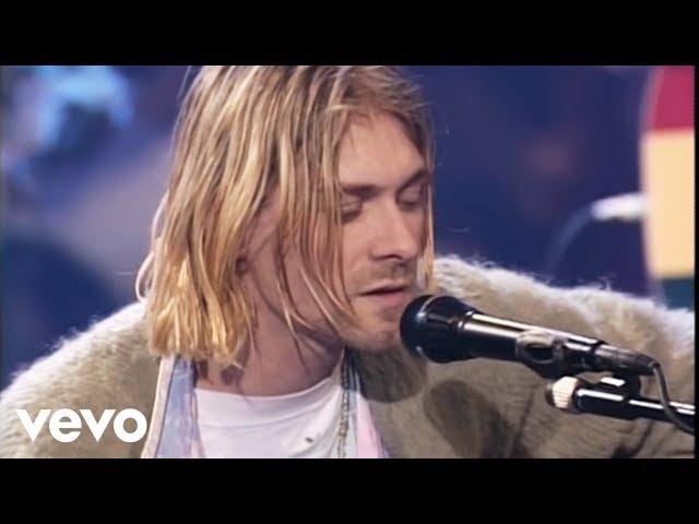 """Video de Nirvana cantando """"The man who sold the world"""" en concierto para MTV Unplugged"""