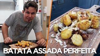 Batata Assada Perfeita - Cozinha com Batata - OCSQN! #136