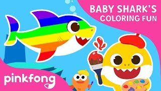 Baby Shark's Coloring Fun   Baby Shark Coloring Book   Toy Show   Pinkfong Toy Show for Children