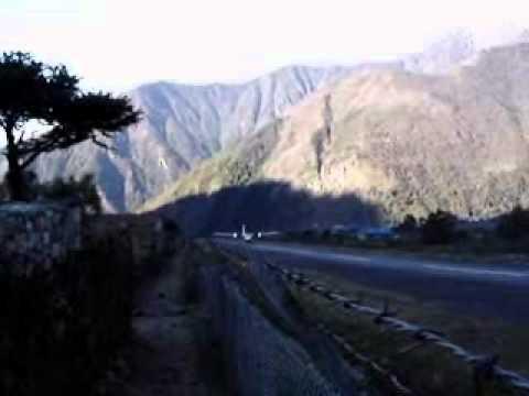 Vila de Lukla – Chegada para o Trekking no Nepal
