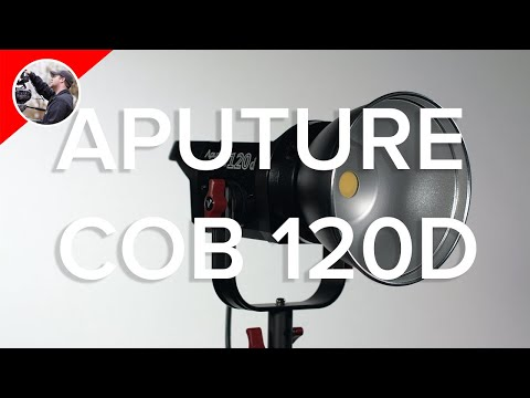 Aputure COB 120D In-Depth Review - LED Lighting Tips Too!