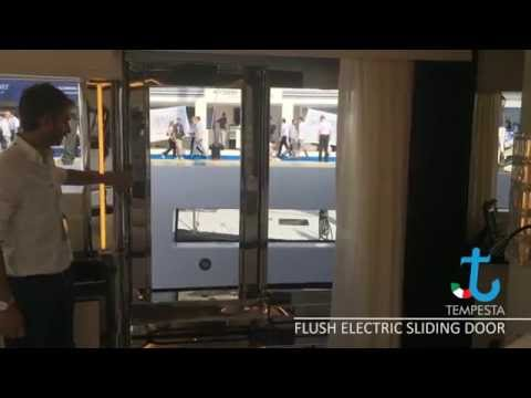 Flush Electric Sliding Door