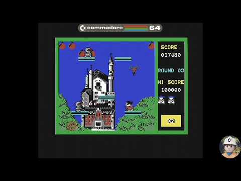 Bomb Jack Commodore 64 - Elite, 1986