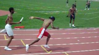 How to do a 4X100m Relay Pass
