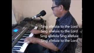 Sing Alleluia To The Lord - Catholic Mass Hymn Cover by Josil Tayson Live Piano