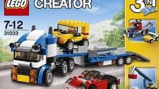 Lego Creator 31033 3in1 Autotransporter