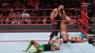 Braun Strowman Showonig his power 2017