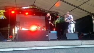 Bedoes - Raz Live Koncert Rap Stacja Wolsztyn 2017