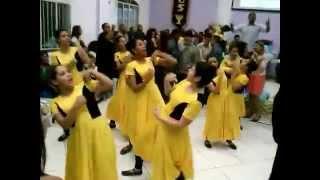 ENCHE-NOS pré- congresso jovem - coreografia cades