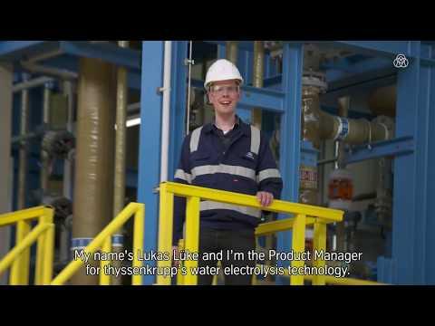 Water electrolysis – power to gas