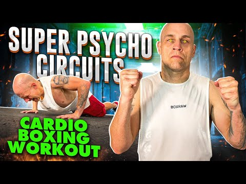 Super Psycho Circuits | Cardio Boxing Workout | 8 Different Circuits | 1,000 Calories