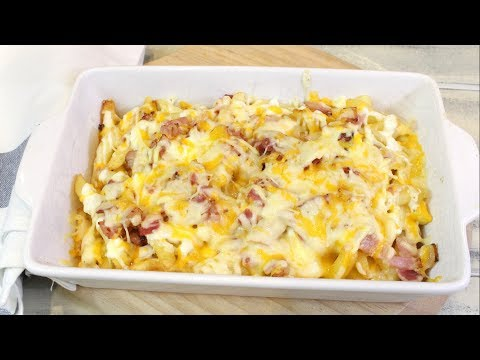 Patatas fritas al estilo Foster¡s Hollywood RECETA DELICIOSA | Bacon cheese fries