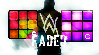 Alan walker - faded cover super pads - scream and electro drum pads 24 - crispy edm