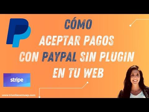 ▶ Cómo aceptar pagos con PAYPAL sin plugin en tu WEB