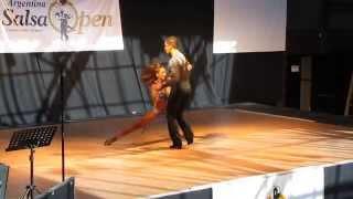 Argentina Salsa Open 2011 - Semifinal - Maria Valencia & Fernando Rivas - 6º