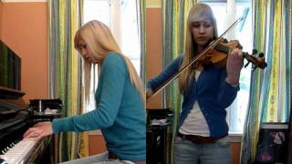 Lara plays Dream of the Shore from Chrono Cross on violin and piano