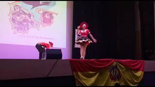 Segundo concurso de la danza Salay en Madrid  / 2do lugar en categoría pareja