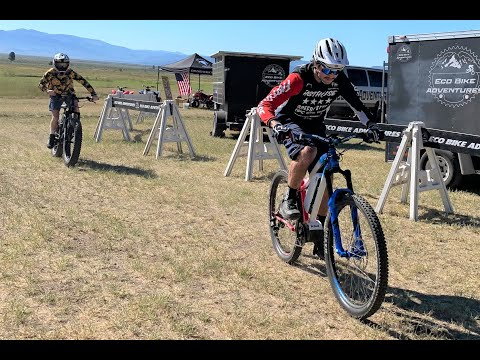 Lost Sierra E-Bike Race: Unlimited Throttle Pro Class Final Race Featuring the 2019 HPC Race Scout