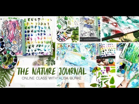 NEW online class! the nature journal