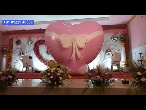 Love Bomb Bride Groom Entry in Stage Digital Wedding +91 81225 40589