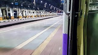 Mumbai Local Train Midnight Arrival At CST/VT Station! width=
