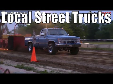 Local Street Truck Class At TTPA Truck Pulls In Carsonville 2019