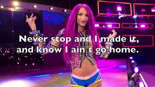 "Sasha Banks WWE Theme ""Sky´s the Limit"" Lyrics (Read Description)"