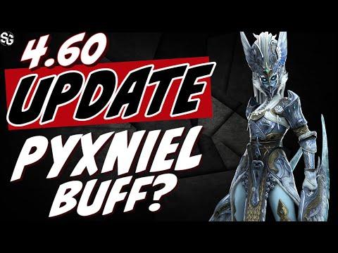 4.60 update. Pyxniel buff? RAID SHADOW LEGENDS Kalvalax poison king