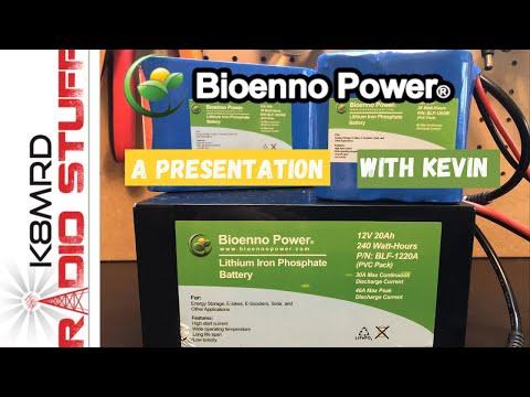 Bioenno Power Presentation with owner Kevin Zanjani