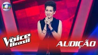Joana Castanheira canta 'Toxic' nas Audições - 'The Voice Brasil' | 5ª Temporada