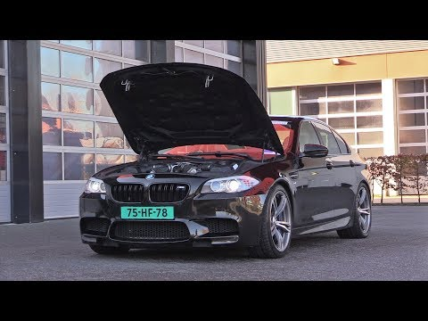710HP BRABUS BMW M5 F10 with HARTGE EXHAUST SYSTEM!