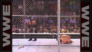 The Undertaker vs. Brock Lesnar - Hell in a Cell WWE Championship Match: No Mercy 2002 width=