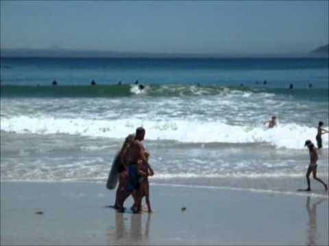 Surfing Small Swell at Kommetjie, Cape Town