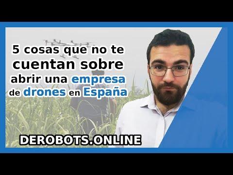5 cosas que no te cuentan sobre abrir una empresa de drones en España