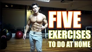5 Fat Burning Exercises