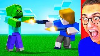 Reacting To AMAZING Minecraft Animations