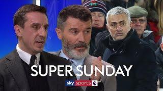 Roy Keane & Gary Neville on whether sacking Mourinho would fix Man United's problems   Super Sunday