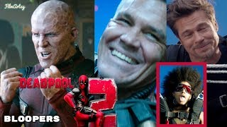 Deadpool 2 Hilarious Bloopers and Gag Reel - Full Outtakes | Ryan Reynolds 2018 width=