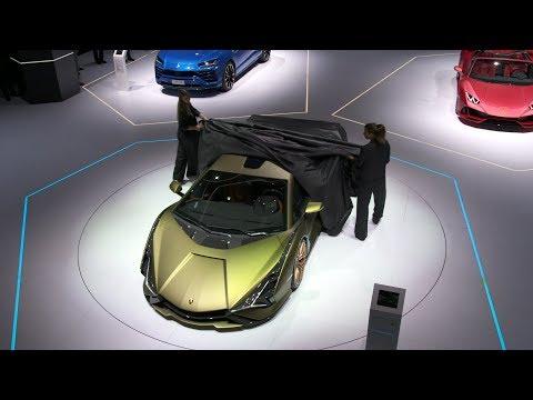 Lamborghini Press Conference ? IAA 2019
