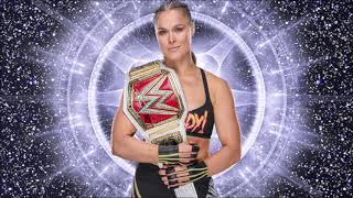 "2018: Ronda Rousey WWE Theme Song ""Bad Reputation"""