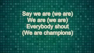 Champions- Freddy Rodriguez Lyrics
