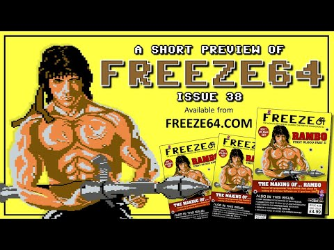 FREEZE64 fanzine issue 38 for the Commodore 64