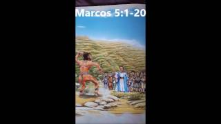 EL HOMBRE CON MUCHOS ESPIRITUS MALOS, relatos para niños.