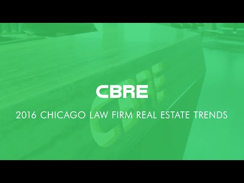 CBRE 2016 Law Firm Trends
