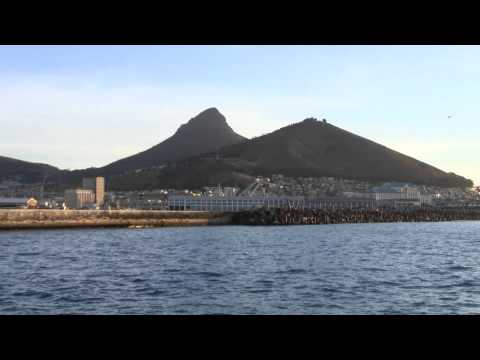 Cape Town Stadium & Table Top Mountain In Cape Town South Africa – April 2010