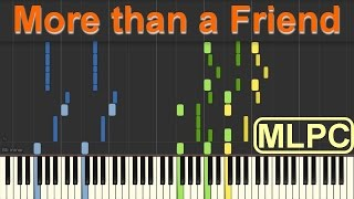 Robin Schulz feat. Nico Santos - More than a Friend I Piano Tutorial by MLPC