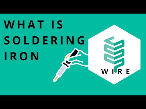 How Soldering works | About Soldering iron | material in soldering wire | what is Soldering iron ?