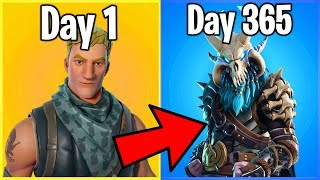 THE COMPLETE HISTORY OF FORTNITE BATTLE ROYALE (1 Year of Battle Royale)
