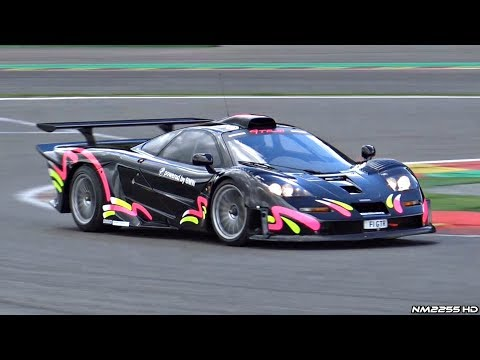 Road Legal McLaren F1 GTR Longtail in Action @ Spa-Francorchamps – Lovely Sounds!